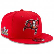 Tampa Bay Buccaneers - Super Bowl LV Champs Red 9FIFTY NFL Kšiltovka