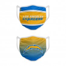 Los Angeles Chargers - Colorblock 2-pack NFL rúško
