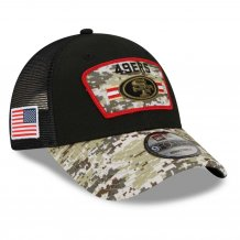 San Francisco 49ers - 2021 Salute To Service 9Forty NFL Cap