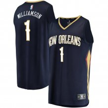 New Orleans Pelicans - Zion Williamson 2019 Draft First Round Replica NBA Dres