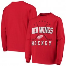 Detroit Red Wings Youth - Digital NHL Long Sleeve T-Shirt