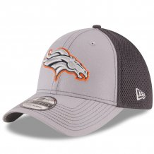 Denver Broncos - Grayed Out Neo 39Thirty NFL Hat