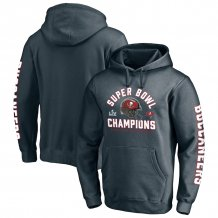 Tampa Bay Buccaneers - Super Bowl LV Champs Lateral Pass NFL Hoodie
