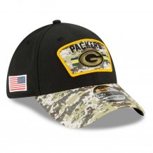 Green Bay Packers - 2021 Salute To Service 39Thirty NFL Czapka