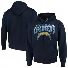 Los Angeles Chargers - Perfect Season Full-Zip NFL Mikina s kapucí na zip